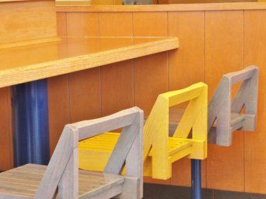 第3535号「ペーパーランチョンマット・タワー」気にする人もいるし、店員さんの清掃の手間も軽減。